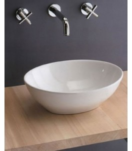 Scarabeo Ovo Bathroom Vessel Sinks