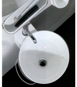 Agape Bucatini Bathroom Sinks