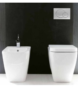 Ceramica Esedra Quadra Bathroom Toilets