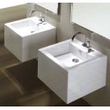 Simas Frozen Bathroom Sinks