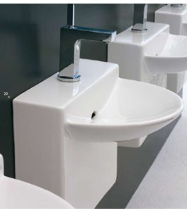 Art Ceram Wall Bathroom Sinks