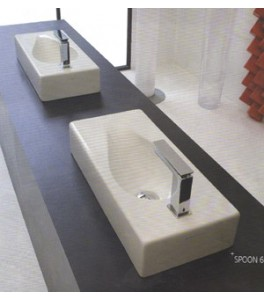 Art Ceram Spoon Bathroom Sinks