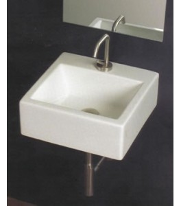 White Stone Quad Bathroom Sinks