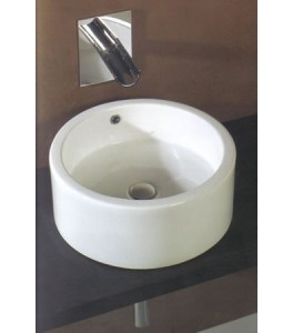 White Stone Mex Bathroom Basins