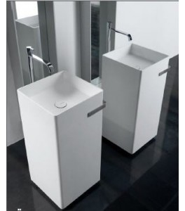 Antonio Lupi Kubic Bathroom Sinks